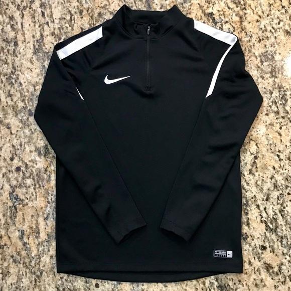Nike Half Zip Long Sleeve Soccer Pullover